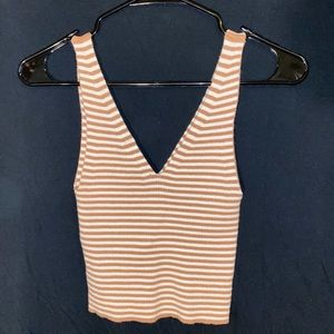 Striped tank top/good quality material